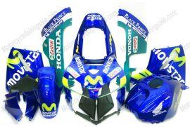 Honda CBR 600RR F5 2005-2006 - Movistar - Blue Injection ABS Fairing