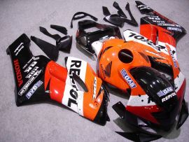 Honda CBR1000RR 2004-2005 - Repsol - Orange/Red/Black Injection ABS Fairing