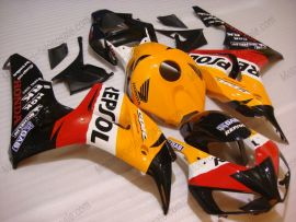 Honda CBR1000RR 2006-2007 - Repsol - Orange/Black Injection ABS Fairing