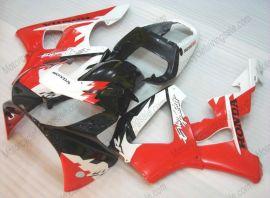 Honda CBR900RR 929 2000-2001 - Erion Racing - White/Black/Red ABS Fairing