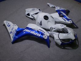 Honda CBR1000RR 2006-2007 - Jordan - White/Blue Injection ABS Fairing