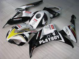 Honda CBR1000RR 2006-2007 - PlayBoy - Black/White Injection ABS Fairing