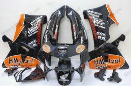 Honda CBR900RR 919 1998-1999 - HM plant - Black ABS Fairing