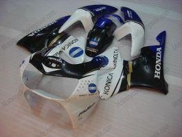 Honda CBR900RR 919 1998-1999 - Konica Minolta - Black/Blue/White ABS Fairing